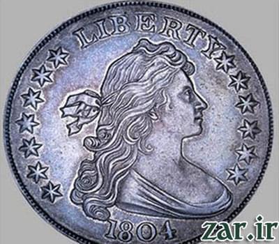 سکه دلار نقره