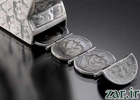 خلاقیت با سکه