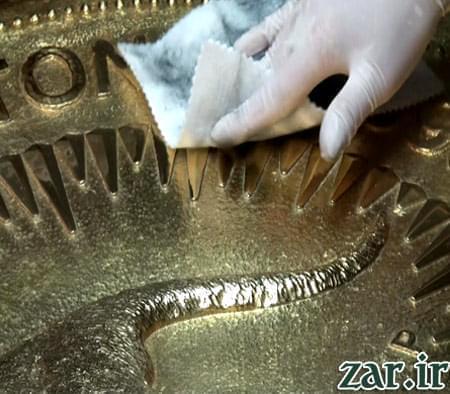 بزرگترین سکه طلای جهان