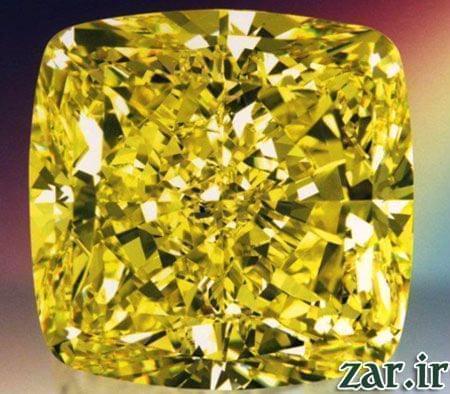 الماس زرد، بزرگترین الماس زرد جهان