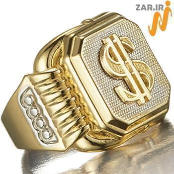 انگشتر مردانه طلا