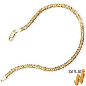 پابند طلا زرد مدل:adf1065