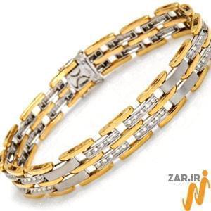جدیدترین مدل دستبند طلا مردانه