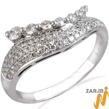 مدل حلقه ازدواج طلای سفید