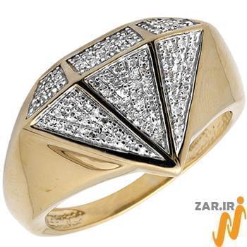 انگشتر مدل الماس