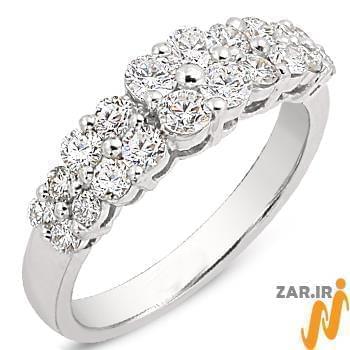 مدل های حلقه ازدواج طلا سفید