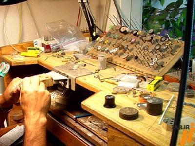 آموزش طلا سازی،آموزش ساخت طلا و جواهر