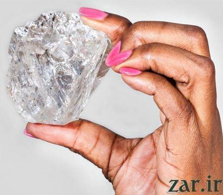 بزرگترین الماس دنیا